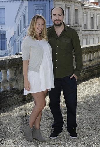 Ludivine Sagnier with Boyfriend Kim Chapiron