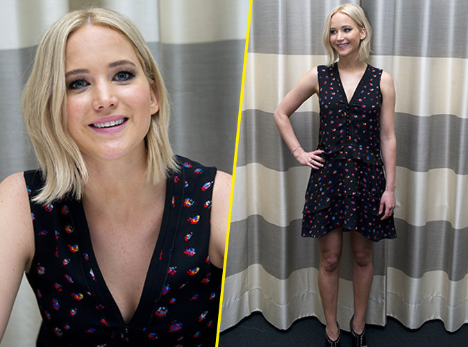 Jennifer Lawrence le 3 novembre 2015