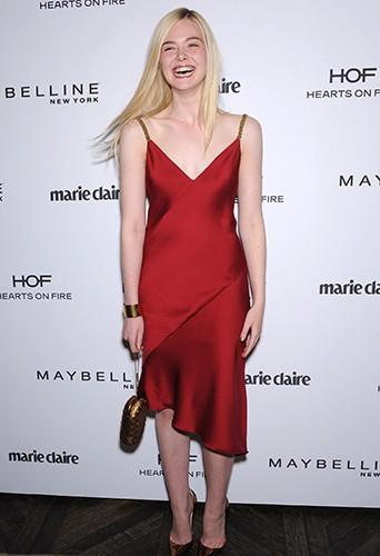 Elle Fanning à Los Angeles le 8 avril 2014