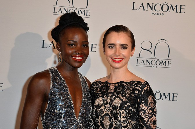 Lupita Nyong'o et Lily Collins le 7 juillet 2015
