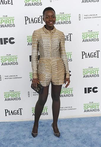 Lupita Nyong'o à Los Angeles le 1er mars 2014
