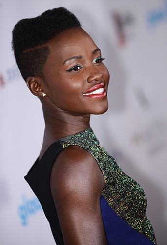 Lupita Nyong'o à Los Angeles le 12 avril 2014
