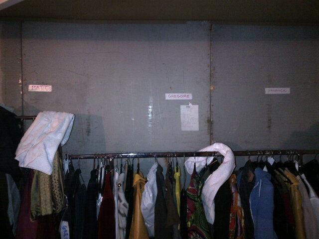 Les costumes de M.Pokora, Grégoire ... sont prêts !