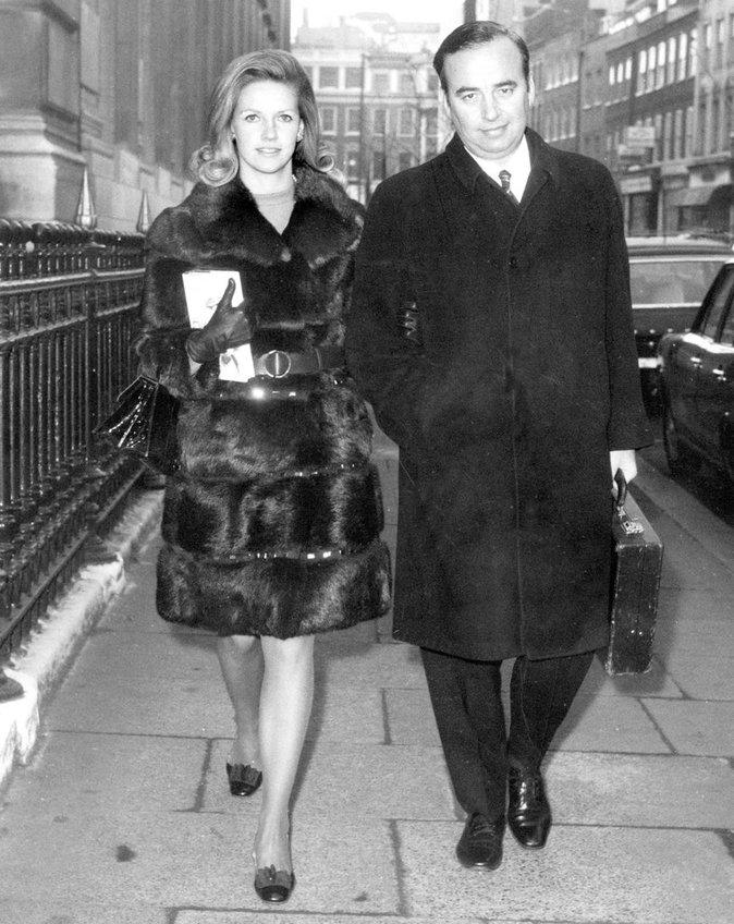 Anna et Rupert Murdoch