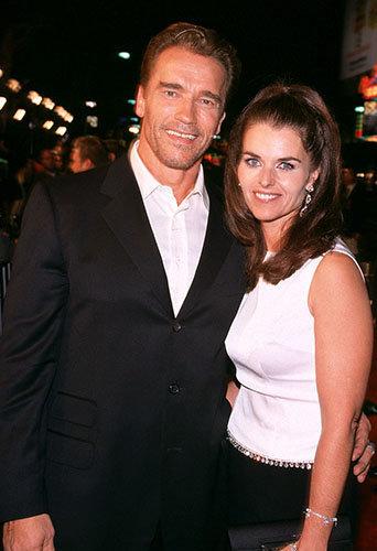 Arnold Schwarzenegger et Maria Shriver