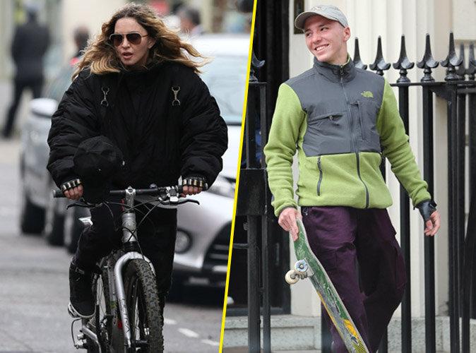 Photos : Madonna : elle a enfin vu son fils Rocco ! La guerre est-elle finie ?