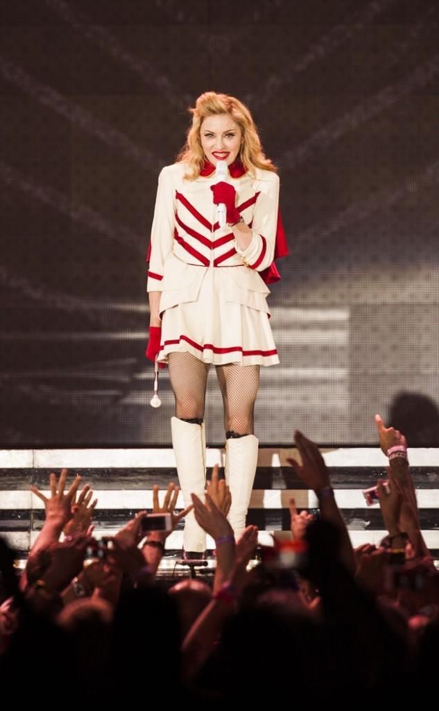 Madonna le 28 juin 2012 en concert à Berlin