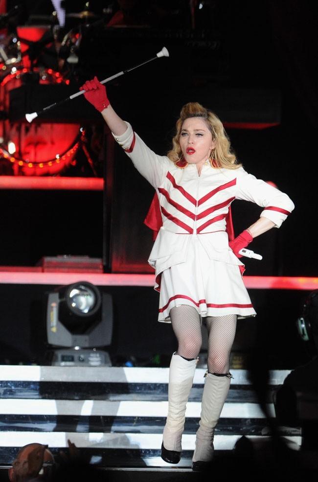 Madonna en concert à Moscou le 7 août 2012