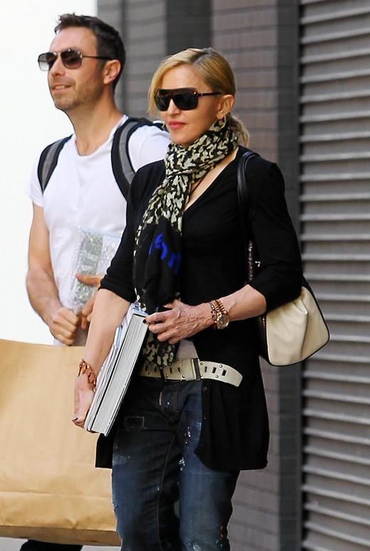 Madonna à New-York le 30 mai 2013