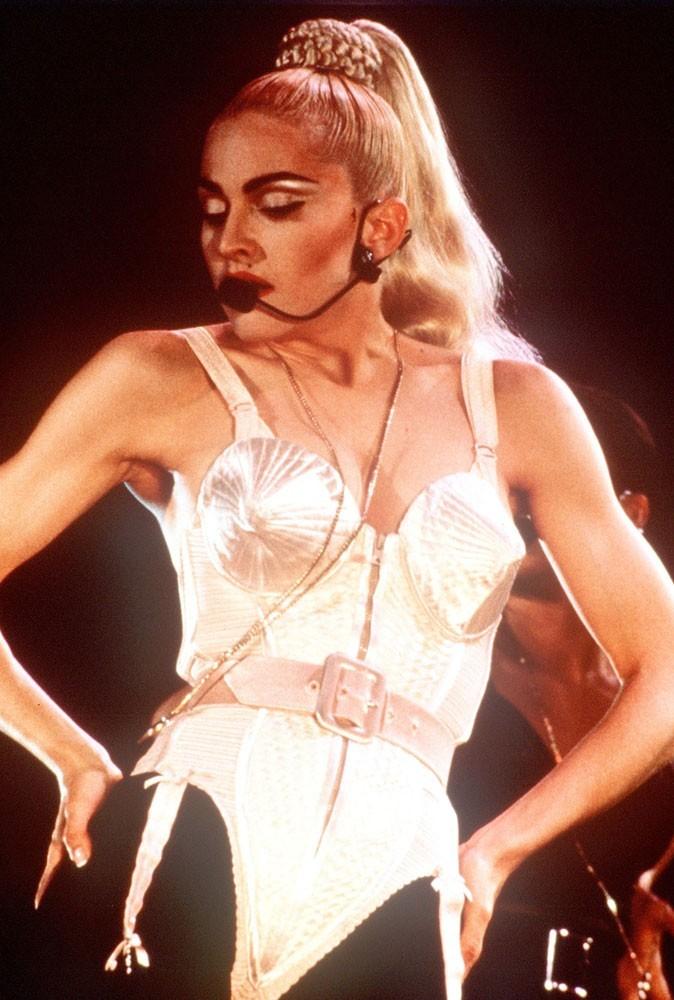 Photos : Madonna sur scène en 1985