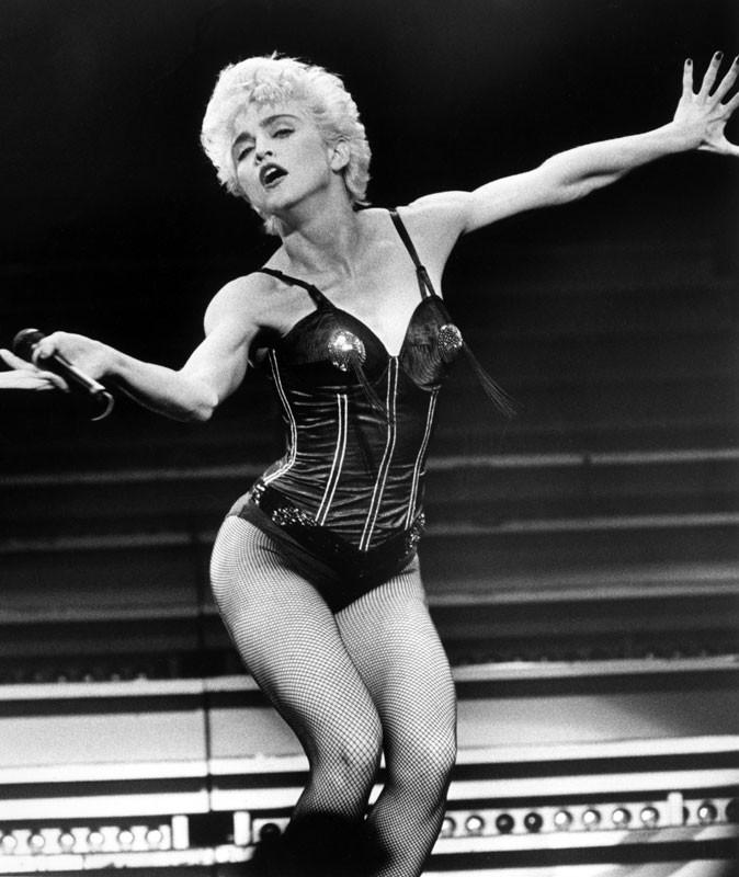 Photos : Madonna sur scène en 1987