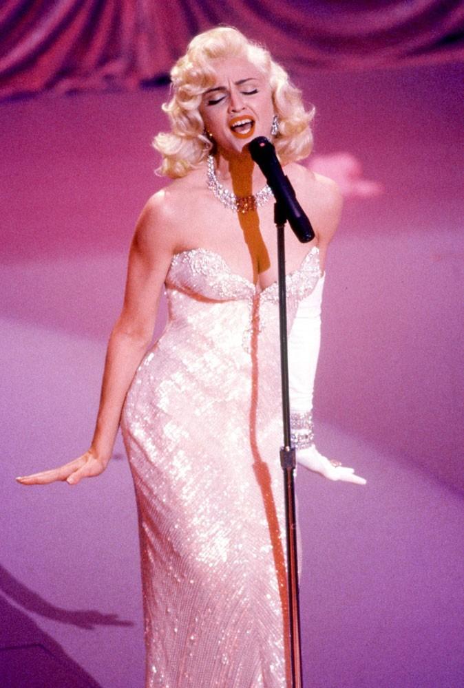 Photos : Madonna sur scène en 1991
