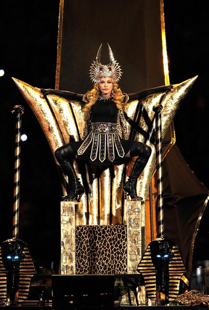 Photos : Madonna sur scène en 2012