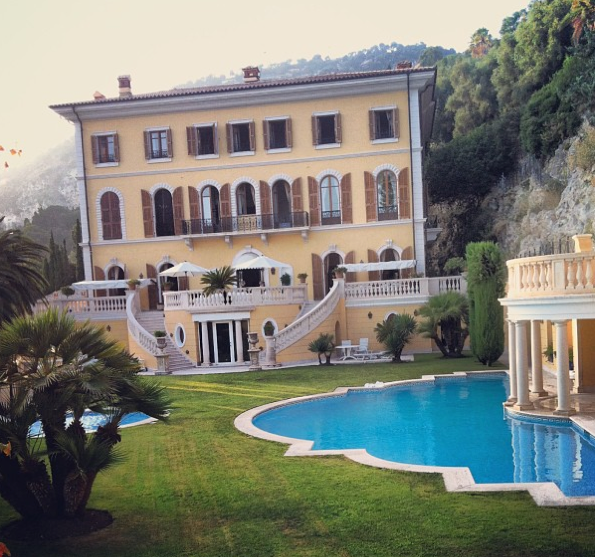 La villa Schiffanoia louée par Madonna !