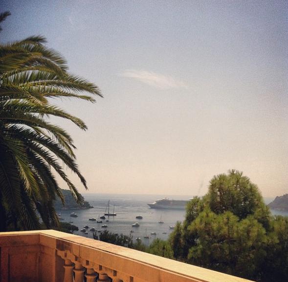 La vue imprenable sur la Méditerranée !