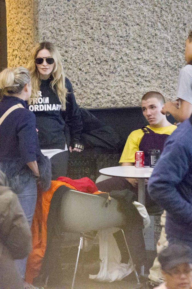 Madonna : enfin aux côtés de son fils, elle est aux anges !