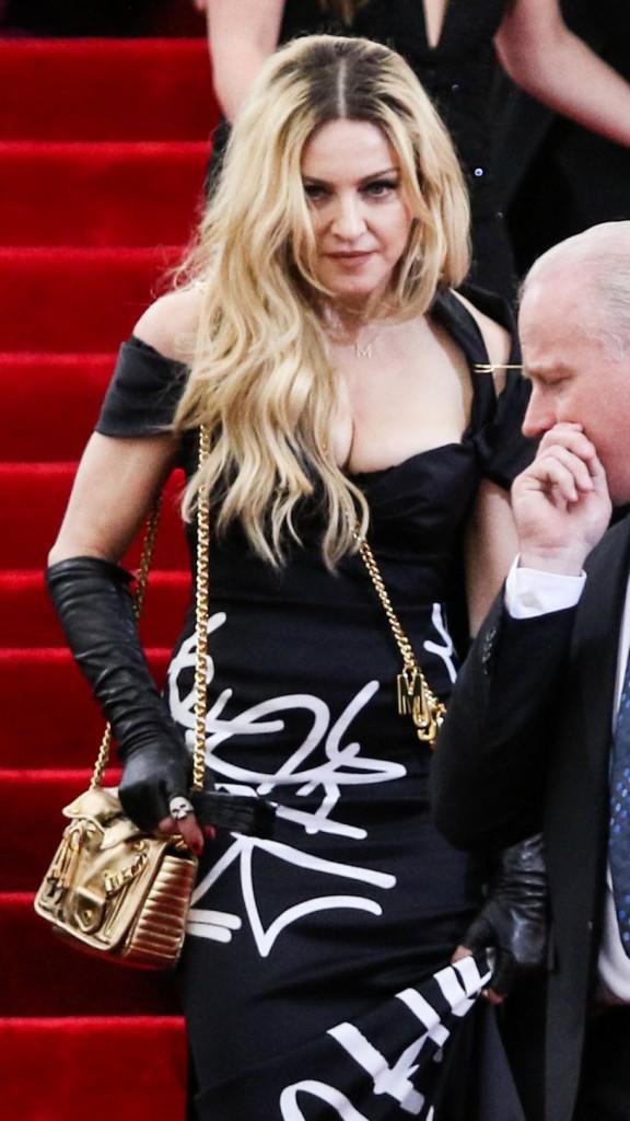 Madonna au Met Gala