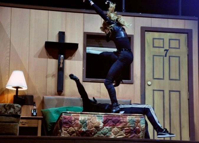 Les répétitions de Madonna pour son MDNA Tour