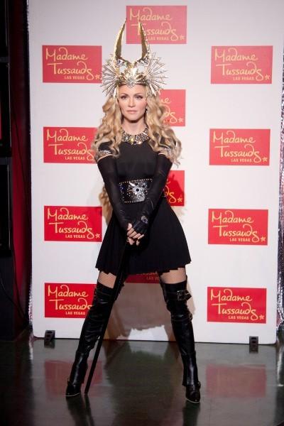 La statue de cire de Madonna, dévoilée le 11 octobre 2012 à Las Vegas