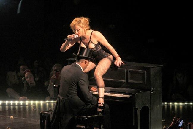 Madonna en concert le 13 novembre 2012 à New York