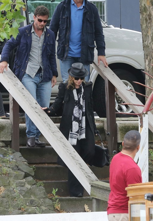 Madonna joue les touristes à Amsterdam le 9 juillet 2012