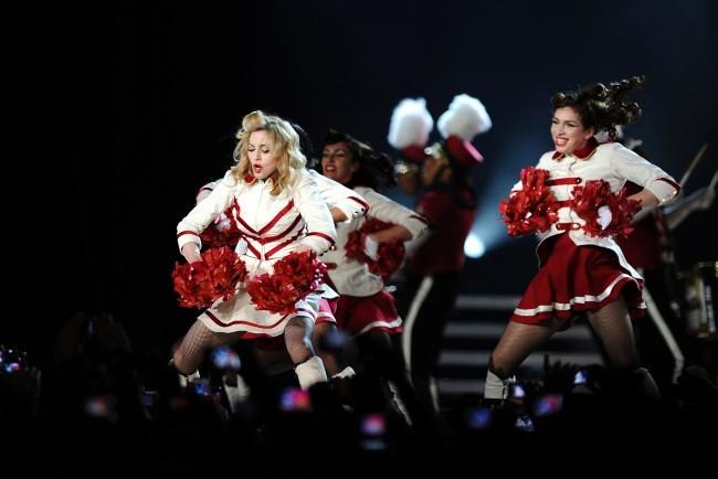 Madonna en concert en Turquie pour son MDNA Tour le 7 juin 2012