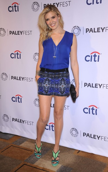 Maggie Grace lors du PaleyFest à Los Angeles, le 16 mars 2014.