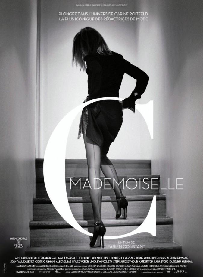"Affiche du film ""Mademoiselle C"""