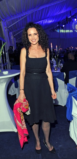 Andie MacDowell lors du Gala Hermes Eagles Presidents Cup 2011 à Faro, le 20 novembre 2011.