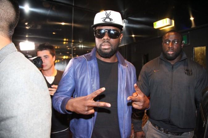 Maître Gims au VIP Room Theater à Paris, le 20 juin 2013.