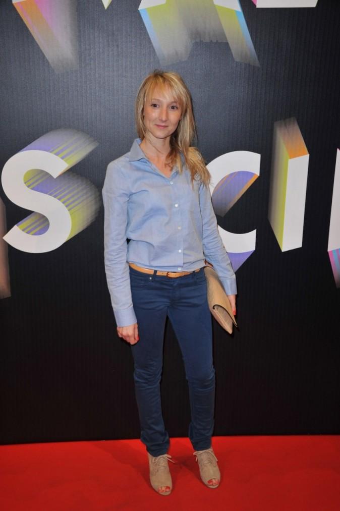 Audrey Lamy lors du Festival Paris Cinéma, le 30 juin 2011 à Paris.