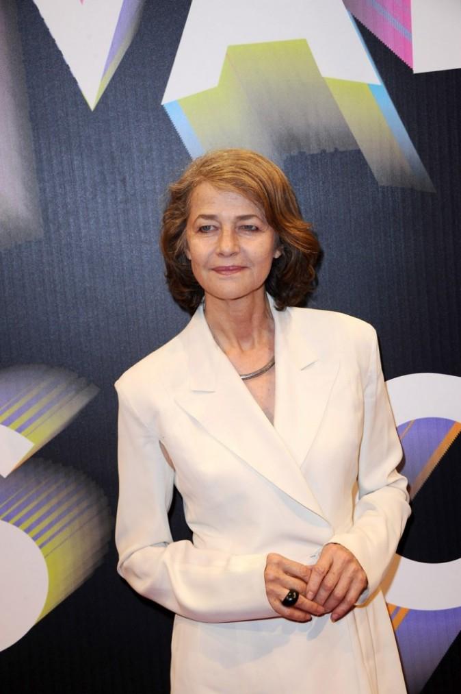 Charlotte Rampling lors du Festival Paris Cinéma, le 30 juin 2011 à Paris.