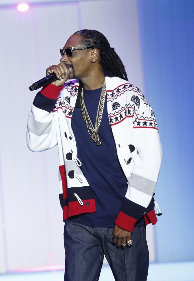 Photos : Major Lazer, Snoop Dogg, Lily Wood and the Prick... défilé d'artistes au show Etam !