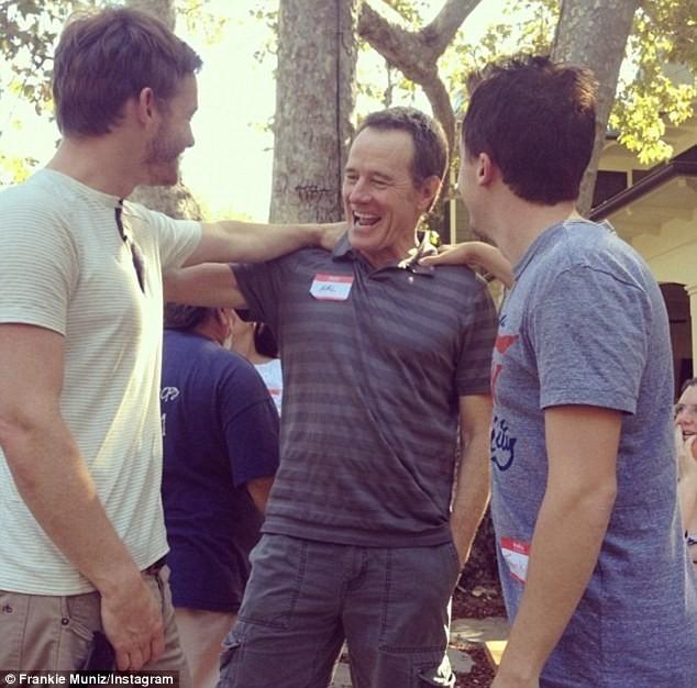 Christopher Masterson, Bryan Cranston et Frankie Muniz