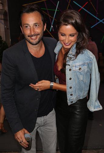 Malika Ménard et Michaël Cohen à Paris le 20 juillet 2016