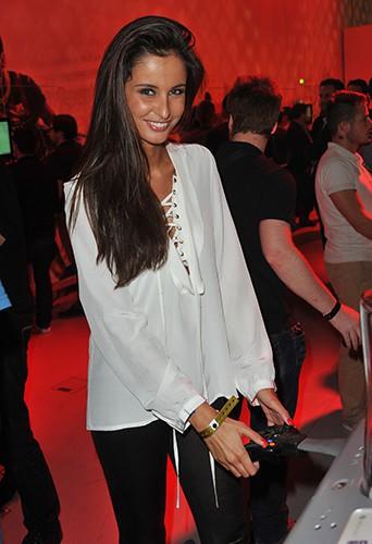 Malika Ménard à Paris le 23 septembre 2013