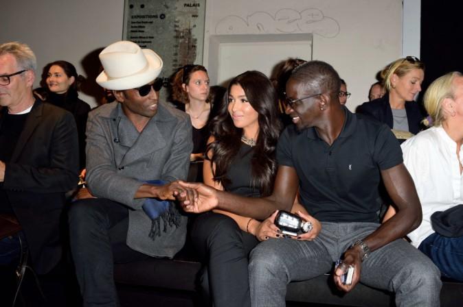 Photos : Mamadou et Majda Sakho : un couple au top au défilé Barbara Bui !