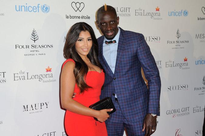 Majda et Mamadou Sakho ce lundi 9 mai 2016 à Paris