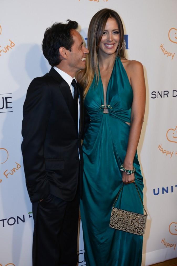 Marc Anthony et Shannon De Lima lors du gala Happy Hearts Fund - Lands of Dream : Mexico, à New York, le 11 décembre 2012.