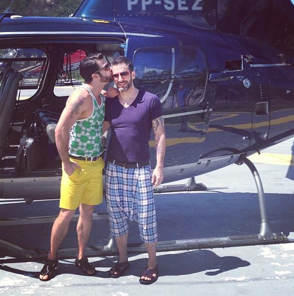 Après-midi romantique et tour en hélicoptère !