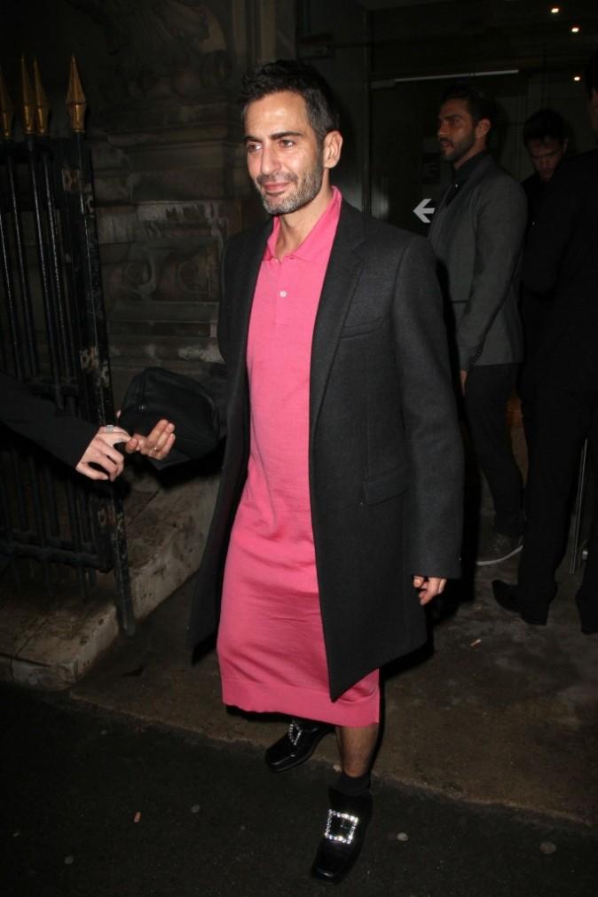 Marc Jacobs se rendant à la Louis Vuitton Party à Paris, le 7 mars 2012.