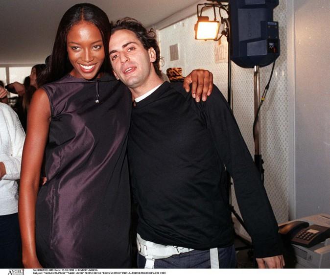 Marc Jacobs et Naomi Campbell