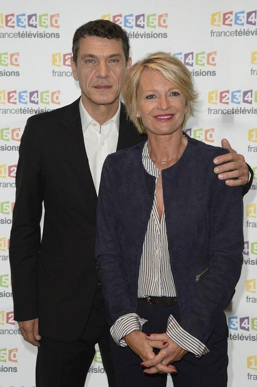 Photos : Marc Lavoine : parrain engagé pour le Téléthon, avec Sophie Davant