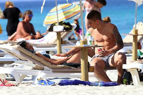 Photos : Marco Verratti : premières vacances avec son bébé pour le joueur du PSG !