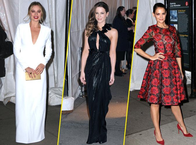 Margot Robbie, Kate Beckinsale, Katie Holmes... Toutes sur leur 31 pour la soirée des Gotham Independent Film Awards