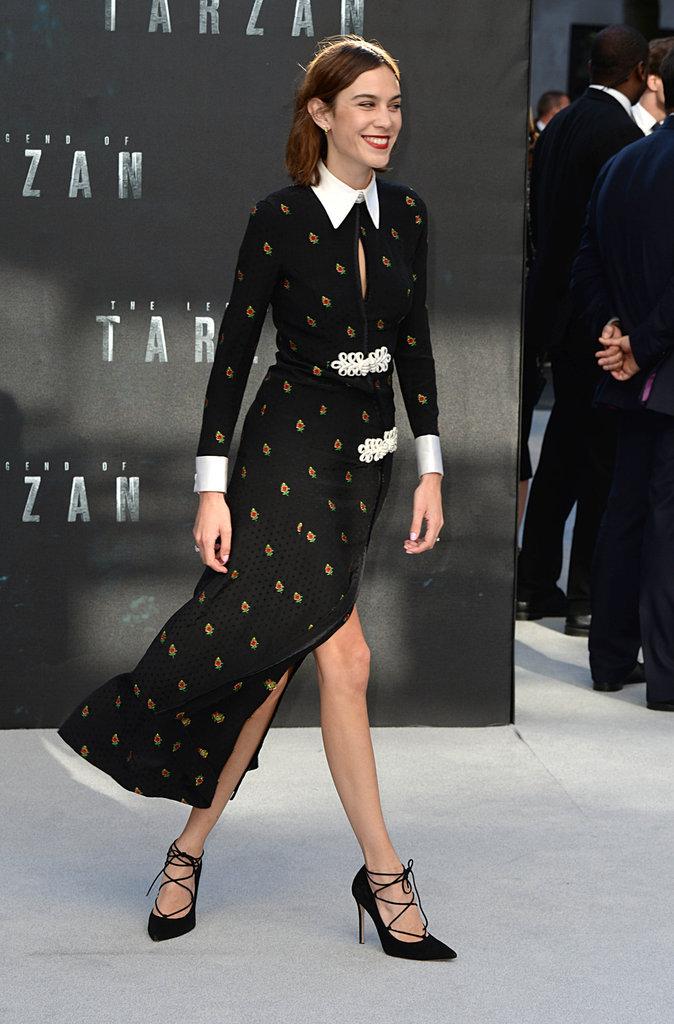 """Photos : Margot Robbie : bien entourée pour la première de Tarzan, elle nous donne """"mâle"""" à la tête !"""