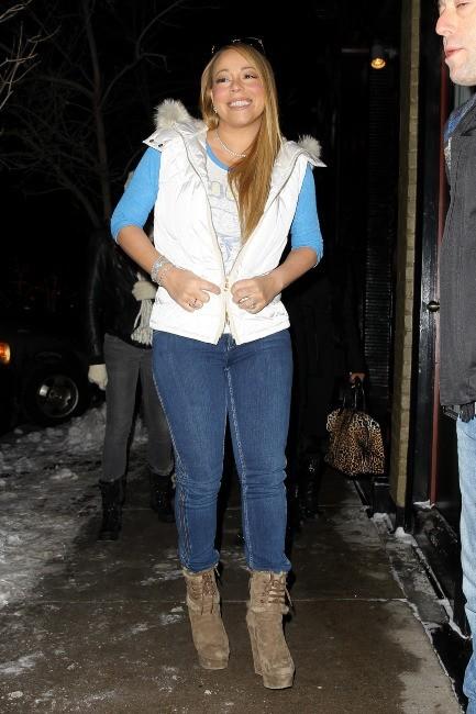 Mariah Carey le 20 décembre 2012 à Aspen