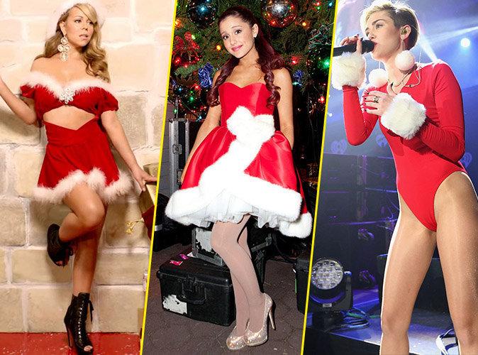 Mariah Carey, Ariana Grande ou Miley Cyrus ? Votez pour la Mère Noël la plus sexy !