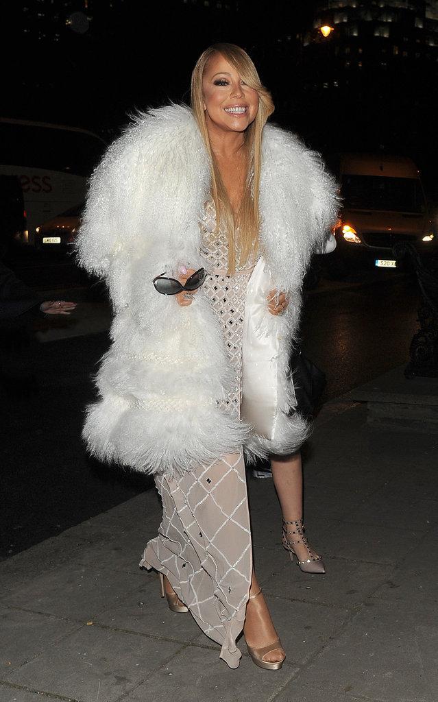 Mariah Carey n'a pas froid aux yeux et n'a pas froid tout court !
