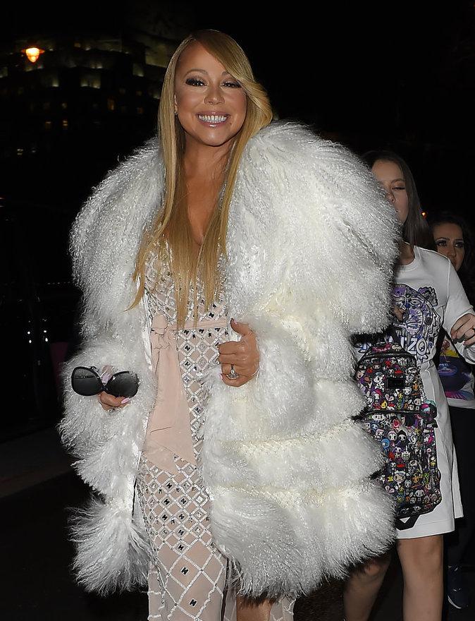 Mariah Carey, toujours aussi resplendissante